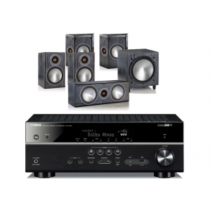Yamaha RX-V781 w/ Monitor Audio Bronze 1 Speaker Package (5.1)