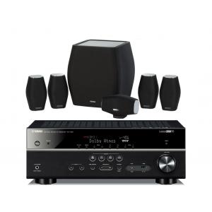 Yamaha RX-V581 w/ Monitor Audio MASS Speaker Package 5.1