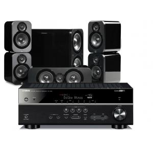 Yamaha RX-V683 AV Receiver w/ Q Acoustics 3000 Speaker Package 5.1