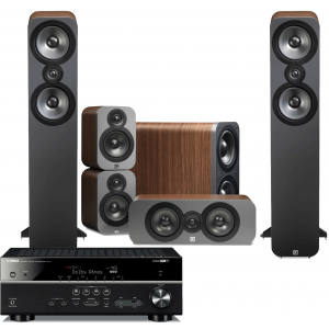 Yamaha RX-V683 AV Receiver w/ Q Acoustics 3050 Speaker Package 5.1