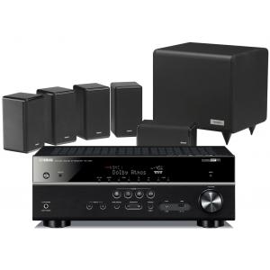 Yamaha RX-V681 AV Receiver w/ Tannoy HTS101 XP Speaker Package 5.1