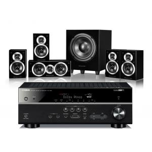 Yamaha RX-V681 AV Receiver w/ Wharfedale DX-1SE Speaker Package 5.1