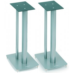 SoundStyle Z2 Speaker Stands (Silver)