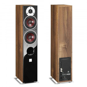 Dali Zensor 5 AX Active Speakers Walnut