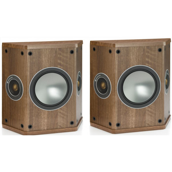 Monitor Audio Bronze FX Surround Speakers Walnut