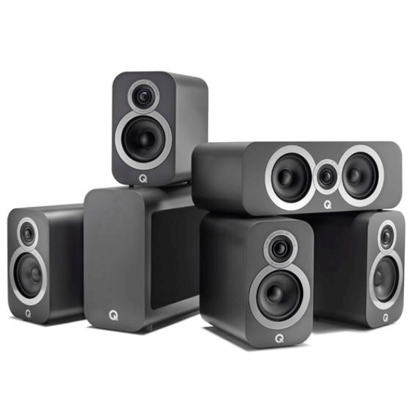 Q Acoustics 3010i 5.1 Cinema Pack