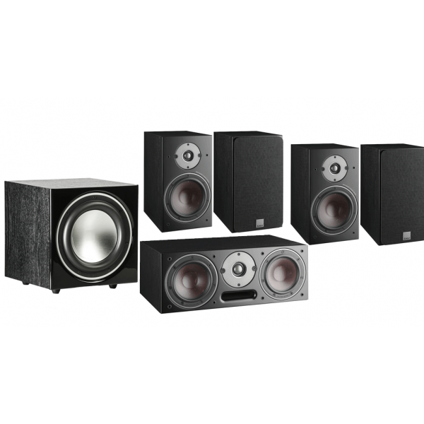 Dali Oberon 1 5.1 Speaker Package Black Ash