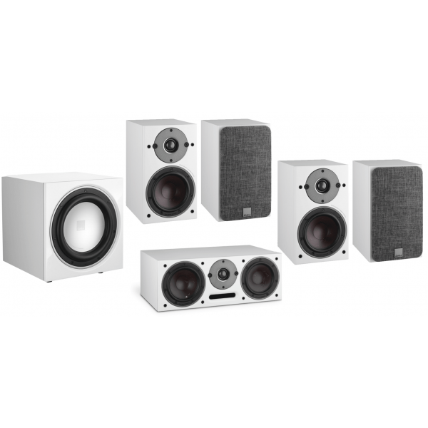 Dali Oberon 1 5.1 Speaker Package White