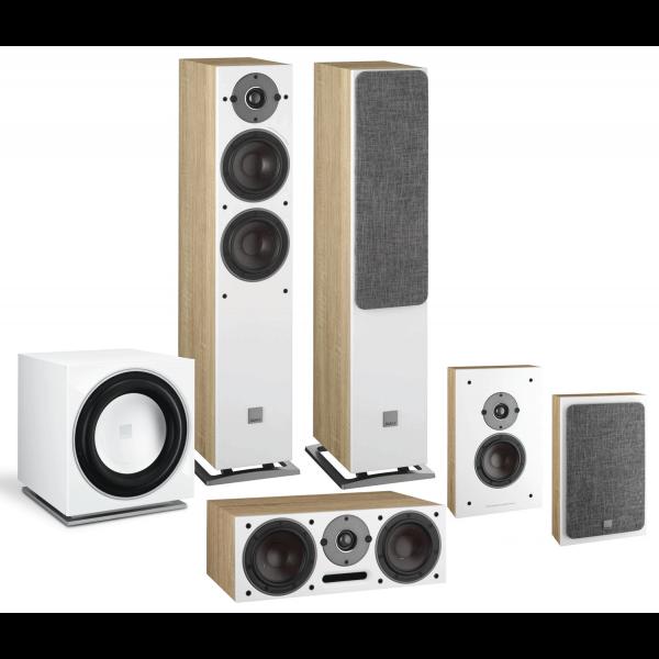 Dali Oberon 7 5.1 Speaker Package Light Oak