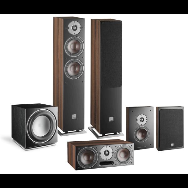 Dali Oberon 7 5.1 Speaker Package Dark Walnut