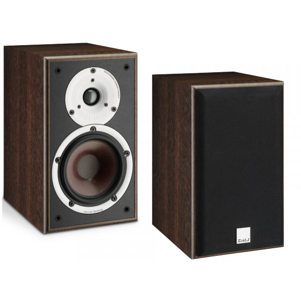 Dali Spektor 2 Bookshelf Speakers Walnut