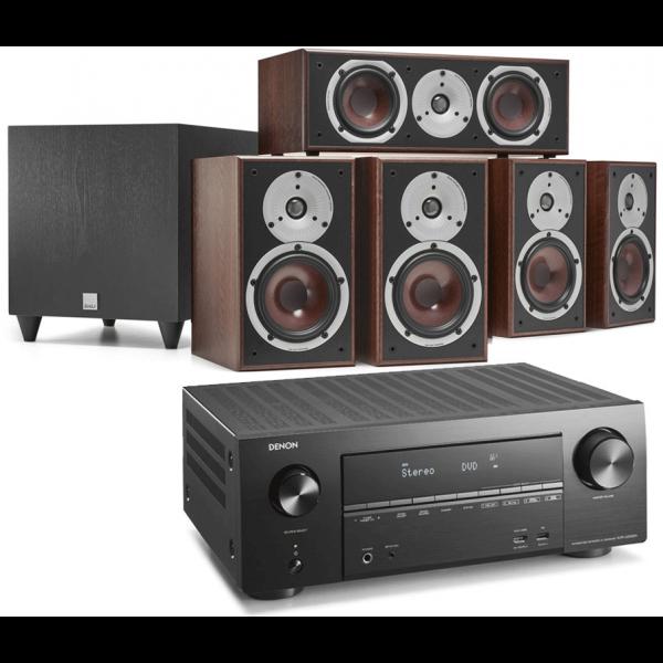 Denon AVR-X2500H AV Receiver w/ Dali Spektor 2 5.1 Speaker Package