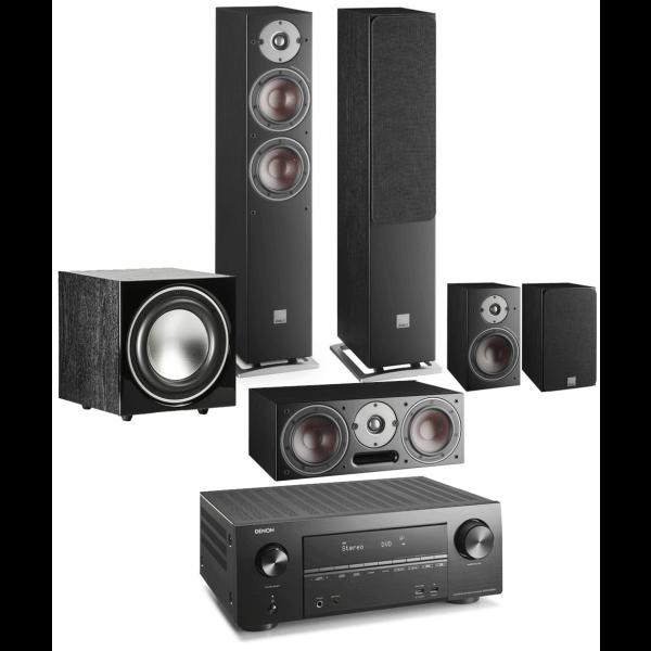 Denon AVR-X2600H AV Receiver w/ Dali Oberon 5 5.1 Speaker Package