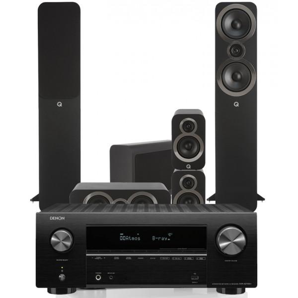 Denon AVR-X2700H AV Receiver w/ Q Acoustics 3050i 5.1 Floorstanding Cinema Pack