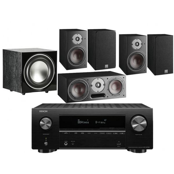 Denon AVR-X2700H AV Receiver w/ Dali Oberon 1 5.1 Speaker Package