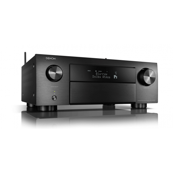 Denon AVC-X4700H Black 9.2ch 8K AV Amplifier 3D Audio HEOS Built-in Voice Control 4700