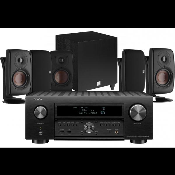 Denon AVC-X6500H AV Receiver w/ Dali Fazon 3 Speaker Package