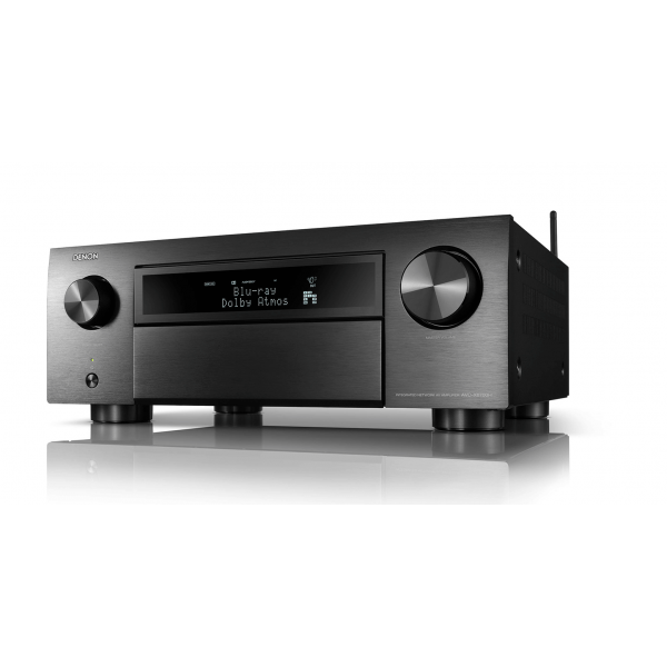 Denon AVC-X6700H Black 11.2ch 8K AV Amplifier 3D Audio, HEOS Built-in Voice Control