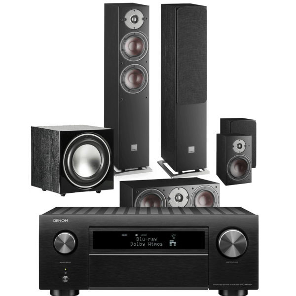 Denon AVC-X6700H AV Receiver w/ Dali Oberon 5 5.1 Speaker Package