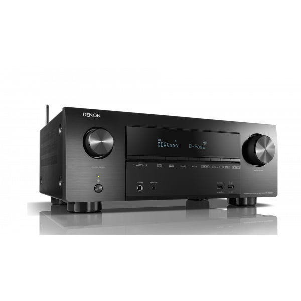 Denon AVR-X2500H 7.2 Channel AV Surround Receiver with HEOS Black