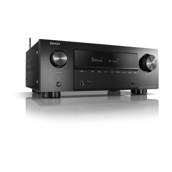 Denon AVR-X2700H Black 7.2ch 8K AV Receiver 3D Audio HEOS Built-in Voice Control 2700