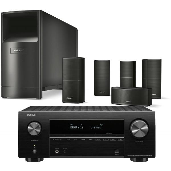 Denon AVR-X2700H AV Receiver w/ Bose Acoustimass 10 Speaker Package