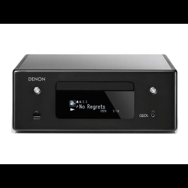 Denon CEOL RCD-N10 Hi-Fi-Network Black CD Receiver with HEOS