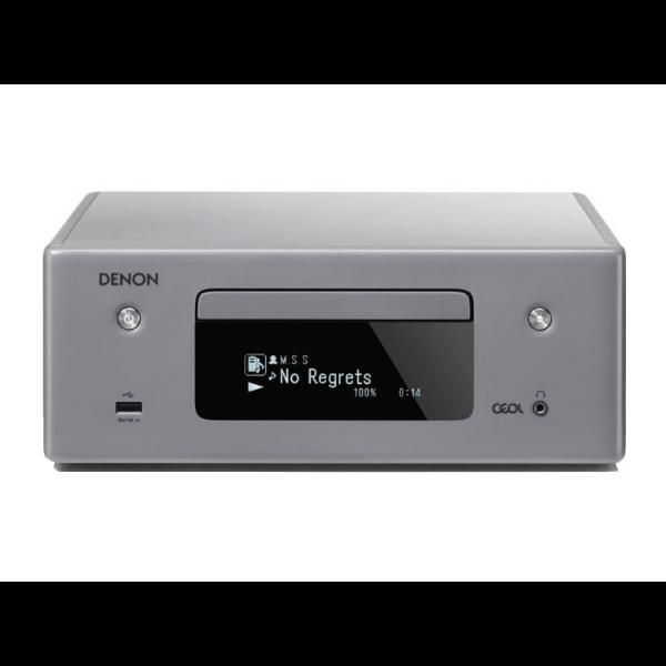 Denon CEOL RCD-N10 Hi-Fi-Network Grey CD Receiver with HEOS