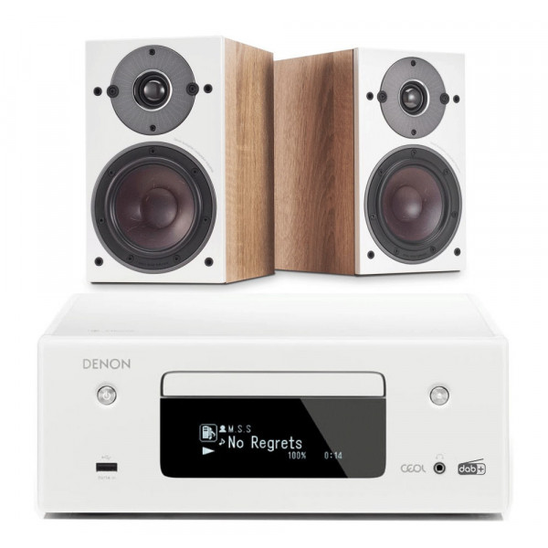 Denon RCD-N11 w/ Dali Oberon 1 Bookshelf Speakers
