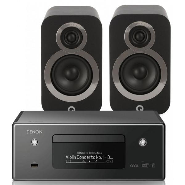 Denon RCD-N11 w/ Q Acoustics 3020i Bookshelf Speakers