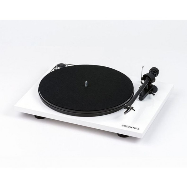 Pro-Ject Essential III Turntable White
