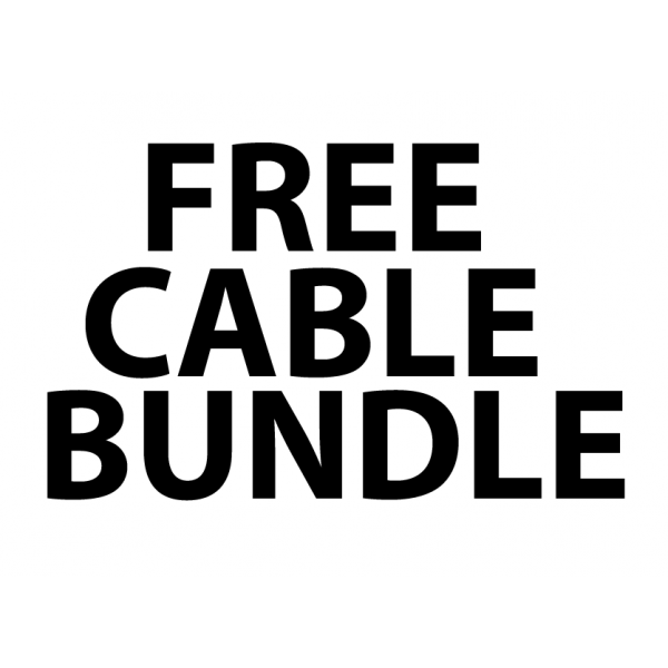 FREE Cable Bundle worth £22!