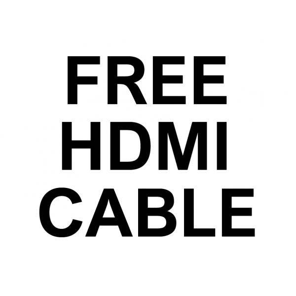 FREE hdmi cable