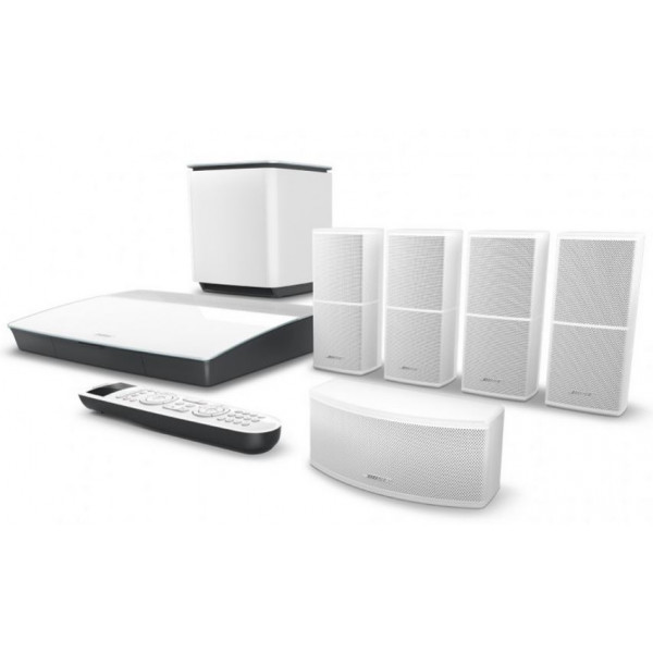 Bose Lifestyle 600 Home Entertainment System White