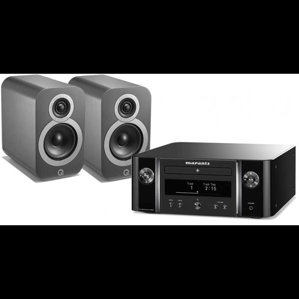 Marantz Melody X MCR612 w/ Q Acoustics 3010i Speakers