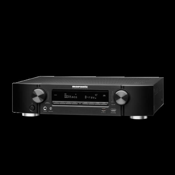 Marantz NR1710 Slim AV Receiver Black 4K HDR Alexa eARC Dolby Atmos Dolby Vision AirPlay 2