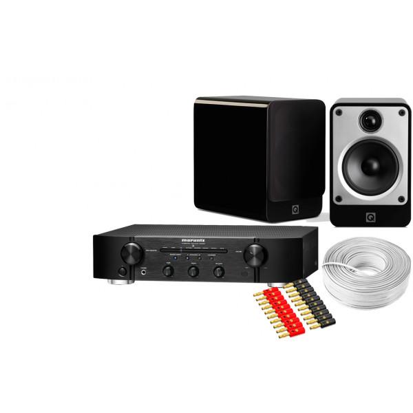 Marantz PM6006 Amplifier w/ Q Acoustics Concept 20 Speakers