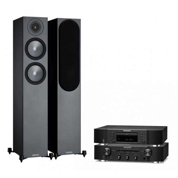 Marantz PM6007 w/ CD6007 w/ Monitor Audio Bronze 200 Speakers