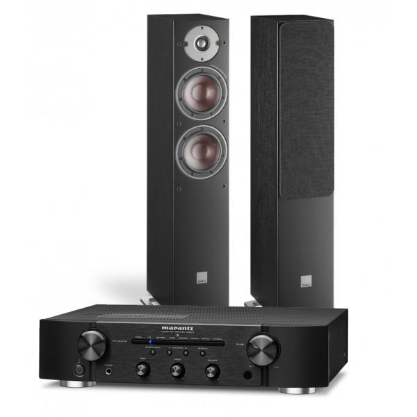 Marantz PM6007 Amplifier w/ Dali Oberon 5 Speakers