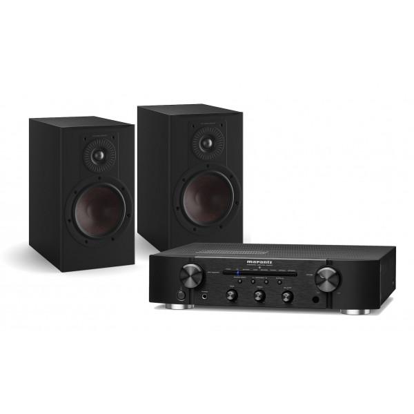 Marantz PM6007 Amplifier w/ Dali Opticon 1 MK2 Speakers