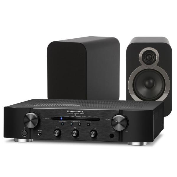 Marantz PM6007 Amplifier w/ Q Acoustics 3020i Speakers