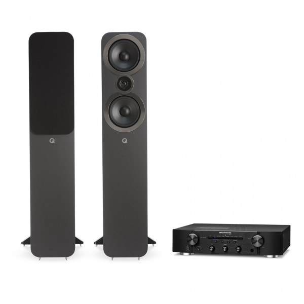 Marantz PM6007 Amplifier w/ Q Acoustics 3050i Speakers