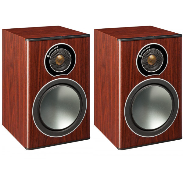 Monitor Audio Bronze 1 Bookshelf Speakers - Rosemah