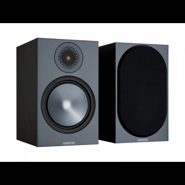 Monitor Audio Bronze 100 Bookshelf Speakers Black (6G)