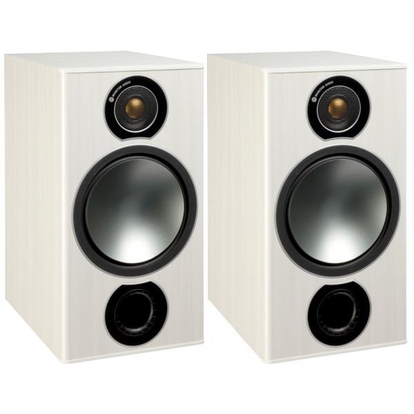 Monitor Audio Bronze 2 Bookshelf Speakers White Ash