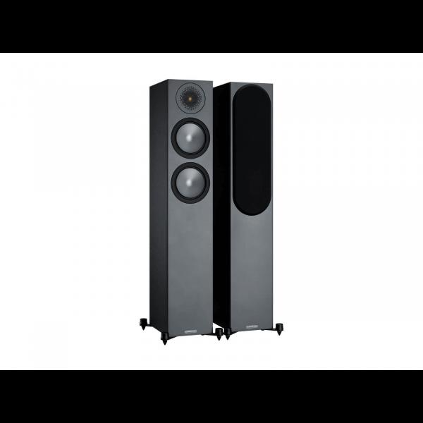 Monitor Audio Bronze 200 Floorstanding Speakers Black (6G)
