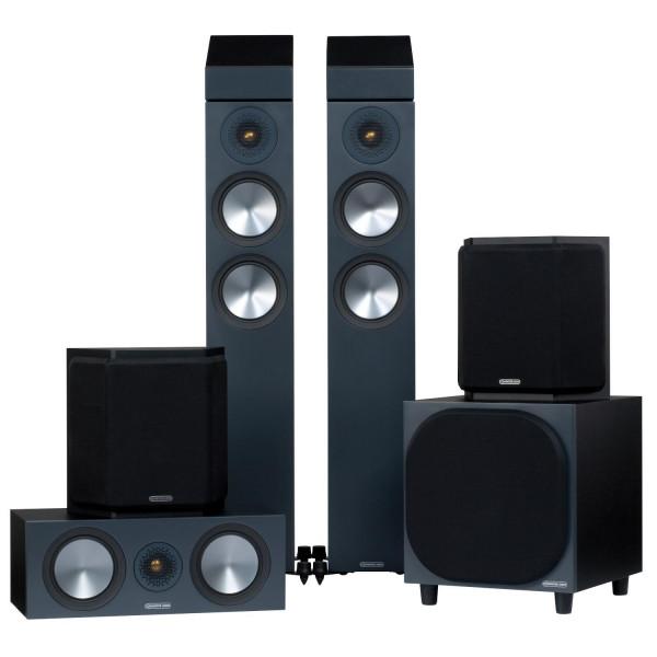 Monitor Audio Bronze 200 AMS 5.1.2 AV Speaker Package (6G)