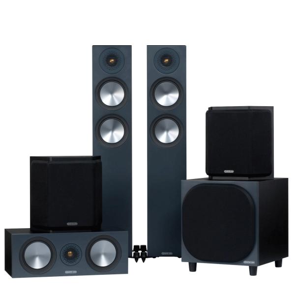 Monitor Audio Bronze 200 AV Speaker Package (6G)