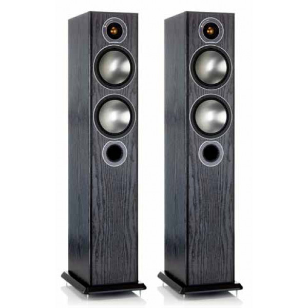 Monitor Audio Bronze 5 Floorstanding Speakers Black Oak