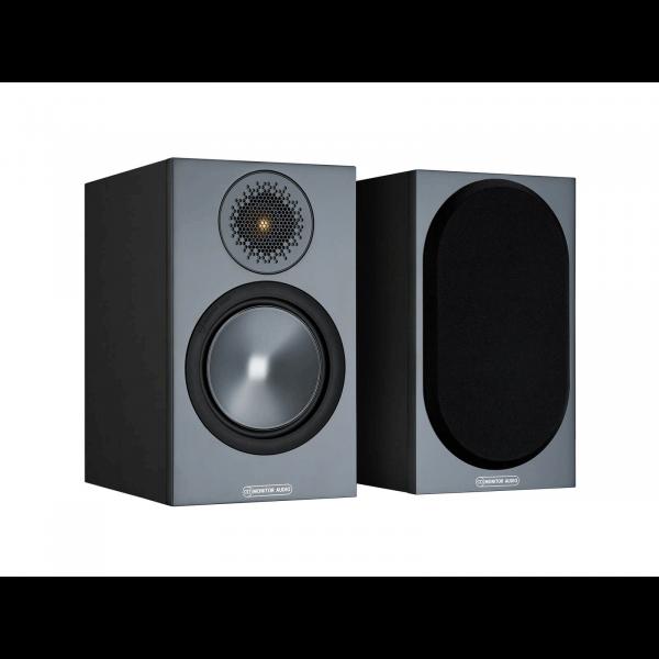 Monitor Audio Bronze 50 Bookshelf Speakers Black (6G)